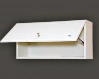Лилия - 60x30 горизонтальная цвет белый