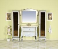 Анжелика - 100 цвет бежевый с сусальным золотом