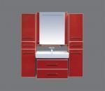 Гранд LUX- 80 подвесной цвет красный, бордовый CROCO