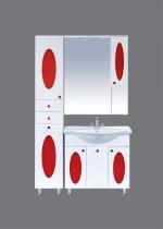 Сидней - 65 (красное, черное, зеленое стекло)
